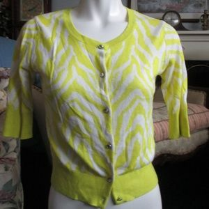 Express Design Studio - Yellow and White Blouse S